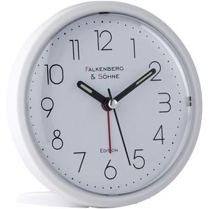 Falkenberg & Söhne Premium Wecker - Weiß