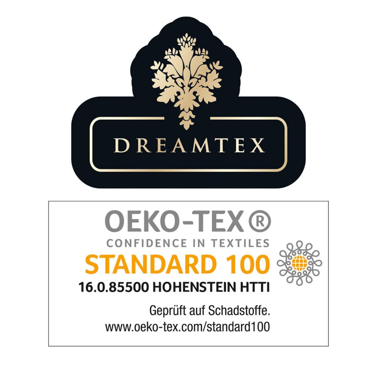 """Bild 3 von Dreamtex Edle Dekokissen """"Kaschmir-Touch"""", ca. 45x45 cm, Rose"""