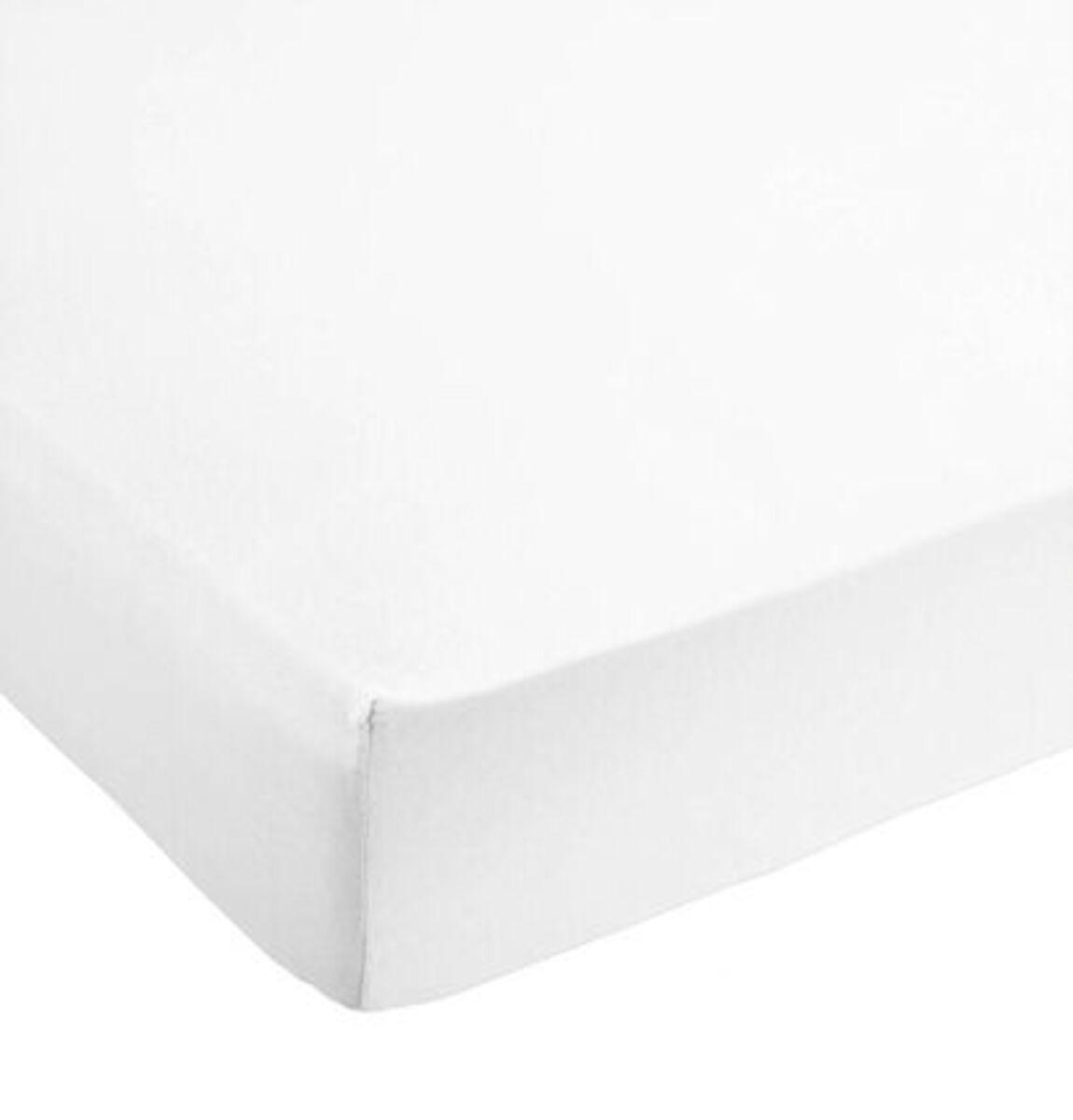 Bild 1 von Galeria Selection Spannbetttuch, reine Baumwolle, Jersey, 100 x 200 cm