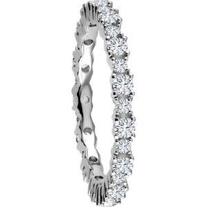 Vandenberg Damen Ring, 585er Weißgold mit mind. 28 Diamanten