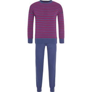 Schiesser Schlafanzug, Ringel, breite Bündchen, für Damen