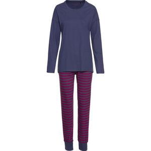Schiesser Schlafanzug, Bündchen, überschnittene Schultern, für Damen