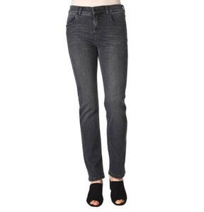 Angels Cici Jeans, Straight Fit, Used-Waschung, 5-Pocket, für Damen