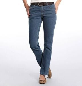 Angels Cici Jeans, Straight Fit, Used-Look, Stretch, für Damen
