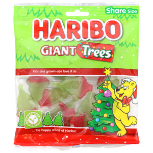 Haribo Riesen-Weihnachtsbäume