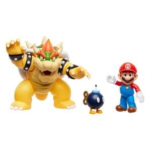 Nintendo Mario vs. Bowser Figuren Set