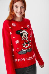 Weihnachtspullover - Micky Maus