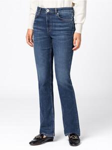 Bootcut-Jeans aus Candiani Denim