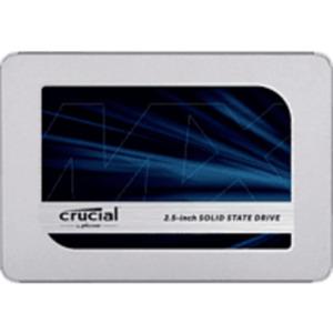CRUCIAL MX500 2 TB Festplatte 2.5 Zoll in Silber