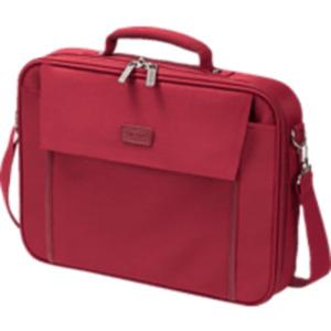 DICOTA D30917 Multi Base Notebooktasche, Umhängetasche, Rot