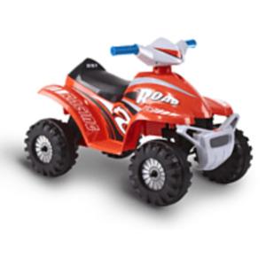 ROLLPLAY ATV Mini Quad Kinderfahrzeug, Rot