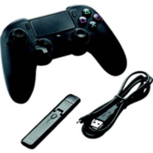 NACON PS4 Asymmetric Wireless Controller Controller, Schwarz