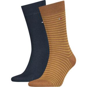 """Tommy Hilfiger Socken """"Small Stripe"""", Streifen, 2er-Pack, für Herren"""