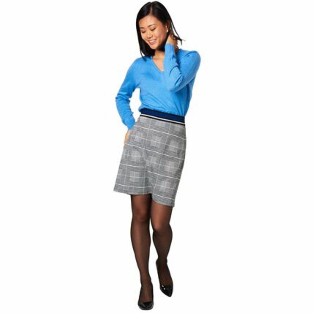 Bild 3 von Adagio Pullover, V-Ausschnitt, Seide-Cashmere-Mix, für Damen