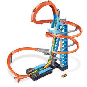 "Hot Wheels Track-Set ""Himmelscrash-Turm"", inkl. 1 Spielzeugauto"