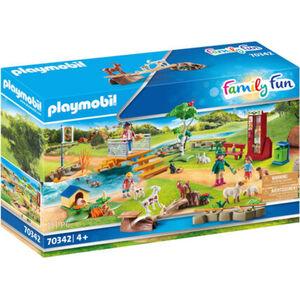 PLAYMOBIL® Family Fun - Erlebnis-Streichelzoo 70342