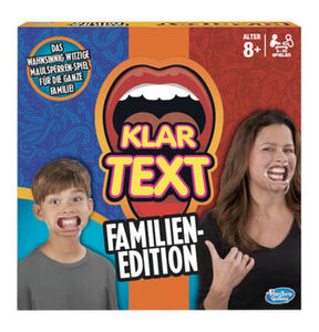 Hasbro Gaming Klartext-Familien-Edition