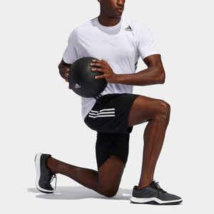 Shorts Fitness Cardio Herren schwarz