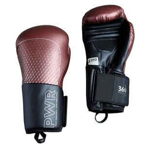 Boxhandschuhe 500 Ergo bordeaux