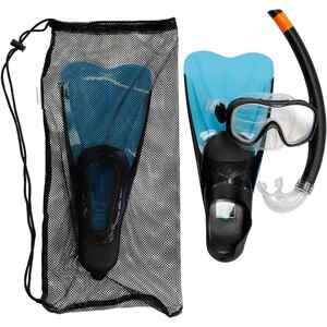 Schnorchel-Set SNK 500 mit Flossen Maske Schnorchel für Kinder blau