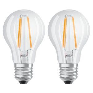 Xavax LED-Filament Leuchtmittel E27 806lm ersetzt 60W »warmweiß, 2 Stück Glühbirne«