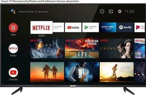 TCL 50P616 LED-Fernseher (126 cm/50 Zoll, 4K Ultra HD, Smart-TV, Android 9.0 Betriebssystem)