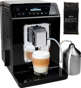 Krups Kaffeevollautomat Evidence EA8918, Doppel-Cappuccino-Funktion, 15 Getränkespezialitäten, inkl. 1 kg ESPRESSO KAFFEE - KRUPS BEST im Wert von 24,99 UVP