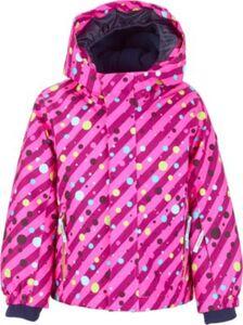 Skijacke mit Kapuze DOTTY MINI  neonpink Gr. 86/92 Mädchen Kleinkinder