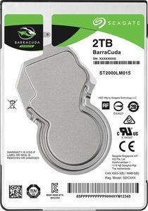 "Seagate »BarraCuda Mobile« HDD-Festplatte 2,5"" (2 TB) 140 MB/S Lesegeschwindigkeit)"