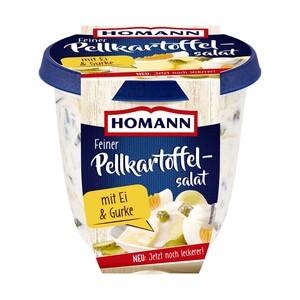 Homann Feiner Pellkartoffelsalat mit Gurke & Ei oder Feiner Nudelsalat jede 800-g-Packung
