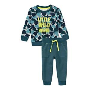 Baby-Jungen-Set mit Camouflage-Muster, 2-teilig