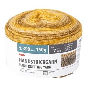 Handstrickgarn mit hohem Baumwoll-Anteil, 150g