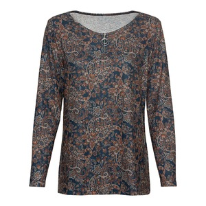 Damen-Sweatshirt mit Reißverschluss
