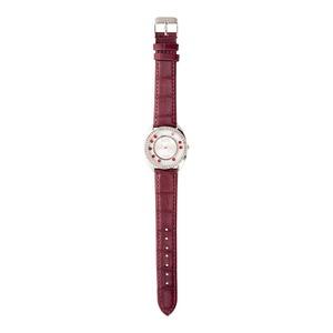 Damen-Armbanduhr mit Strasssteinen