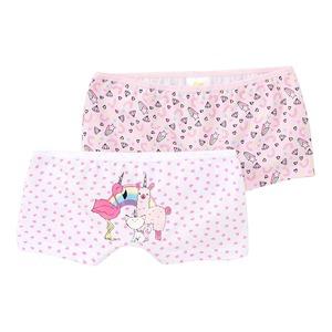 Mädchen-Panty mit Fantasie-Muster, 2er Pack