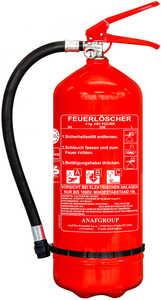 ANAFGROUP  Pulverfeuerlöscher »PS6-HH ABC«