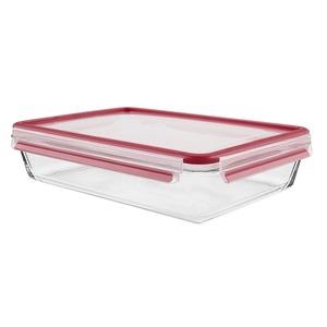1 x Emsa Clip  Close Frischhaltedose Inhalt: 3,0 Liter, rechteckig Maße: 340 x 235 x 76 mm
