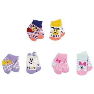 BABY born Socken 2x 3 sortiert