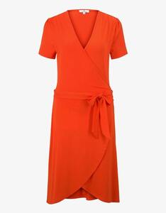 Tom Tailor - Jersey-Kleid mit Bindegürtel und Wickeloptik