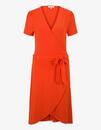 Bild 1 von Tom Tailor - Jersey-Kleid mit Bindegürtel und Wickeloptik