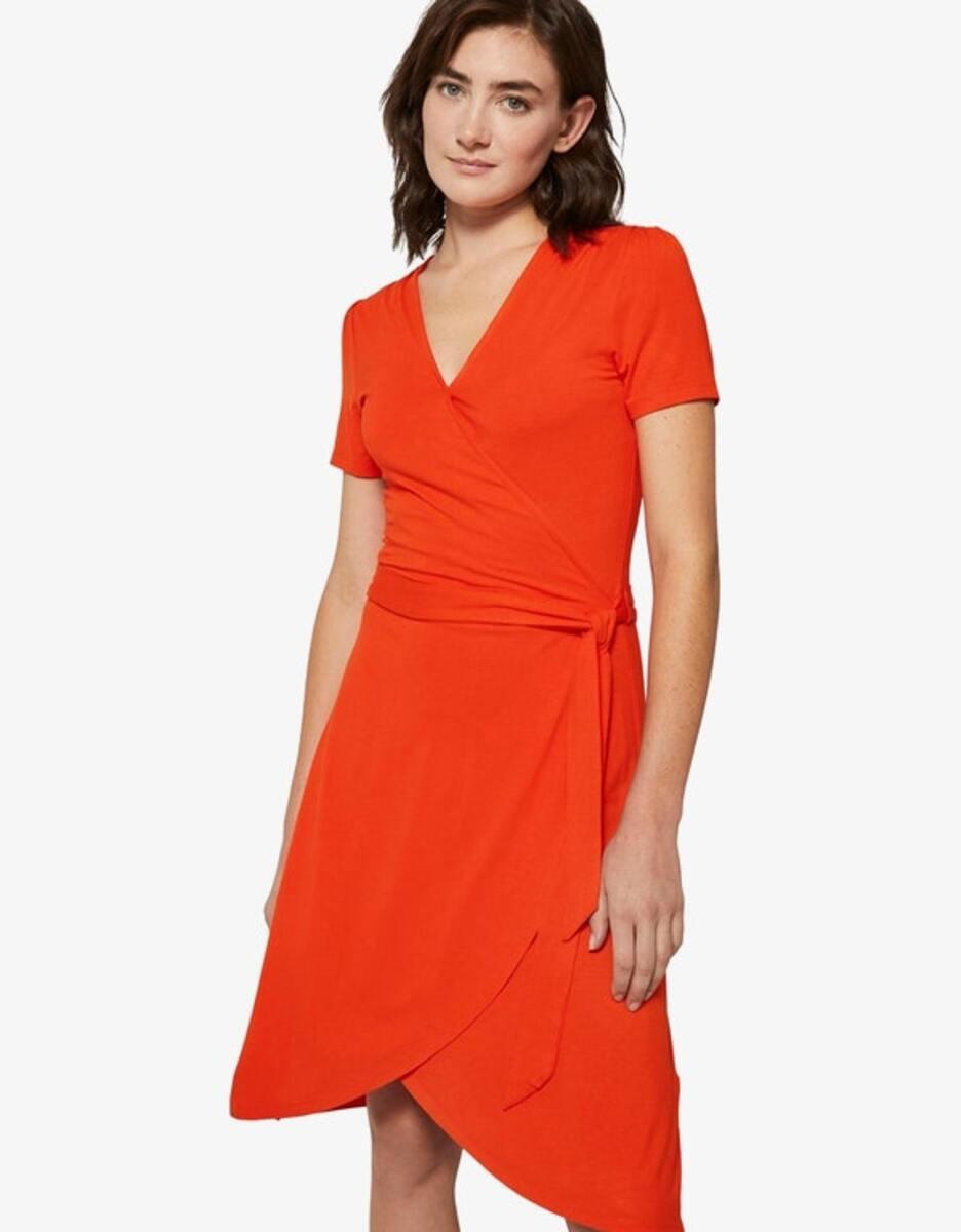 Bild 2 von Tom Tailor - Jersey-Kleid mit Bindegürtel und Wickeloptik