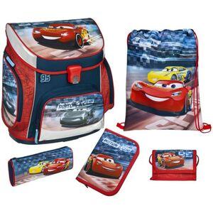 Scooli Schulranzen Set - Disney Cars - rot/blau - Campus Up - 5-teilig