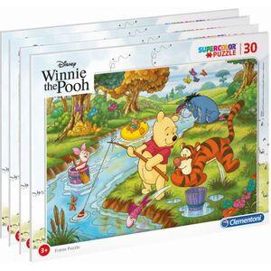 Winnie the Pooh - Rahmenpuzzle - 30 Teile - Supercolor - 1 Stück
