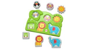 Fisher Price - Dschungel Tierpuzzle