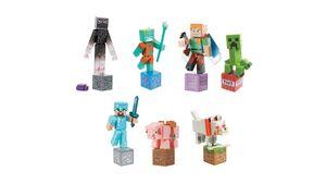 Mattel - Minecraft - Comic Maker Actionfigur, 1 Stück, sortiert