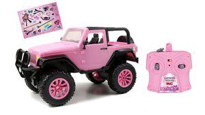 Dickie - RC Pink Driverz Jeep Wrangler