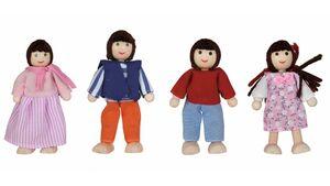 Eichhorn - Puppenhaus Familie 4teilig