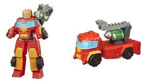 Hasbro - Transformers Playskool Heroes Transformers Rescue Bots Academy Rescue Power Hot Shot