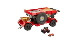 Mattel - Hot Wheels - 2 in 1 Crashrennen Truck