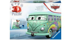 Ravensburger Puzzle - 3D Puzzle-Autos - Volkswagen T1 Cars Fillmore